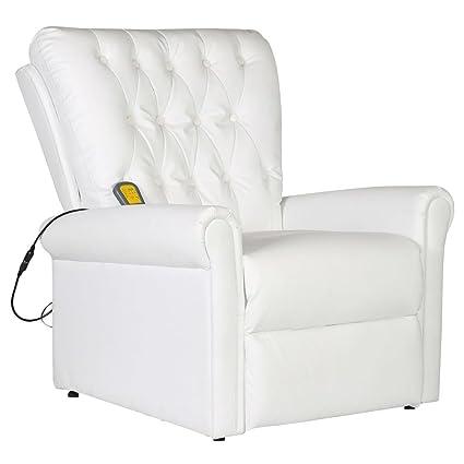 Relax Poltrone Elettriche.Festnight Poltrone Relax Poltrona Di Massaggio Elettrica