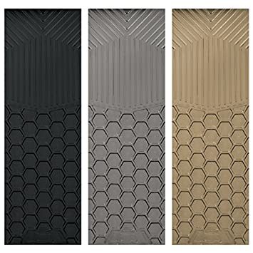 Custom Accessories 78824 Rubber Interior Floor Mat Grey 1-Piece