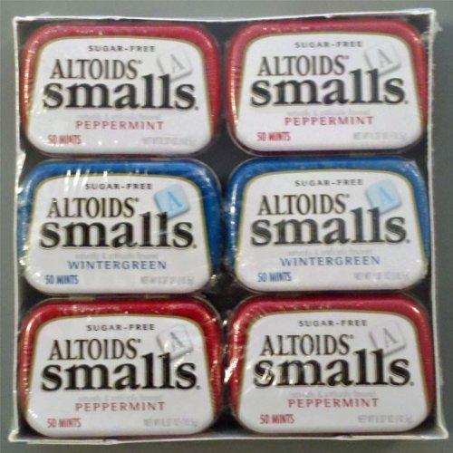 Altoids Smalls Sugar-free 12 Pk Variety Box Personal Heal...