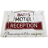 PSYCHO: BATES MOTEL Metal Sign by Arcane Store