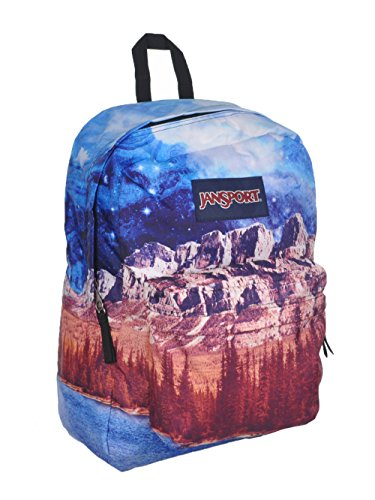 JanSport High Stakes Backpack- Sale Colors (Multi Agate Skies)