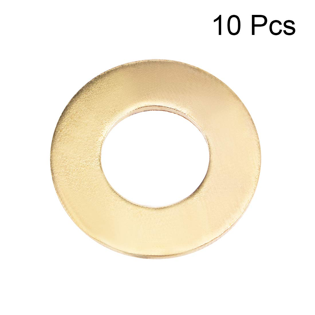 uxcell M5x10mmx0.5mm Stainless Steel Round Flat Washer for Bolt Screw 100Pcs SYNCE008362