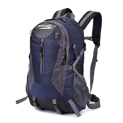 KYFW Ultra Leichtes Outdoor Rock Klettern Auf Fuß Wandern Camping Ski Breathable Nylon Rucksack,E-34*17*51cm-36-55L C-34*17*51cm-36-55L