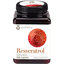 youtheory Resveratrol Anti-Aging Formula, 290ct