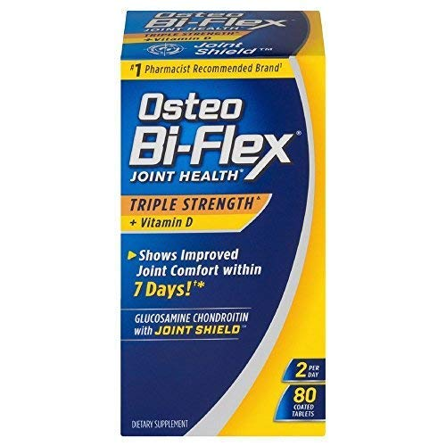 Osteo Bi-Flex Triple Strength + Vitamin D, Coated Tablets 80 ea Review