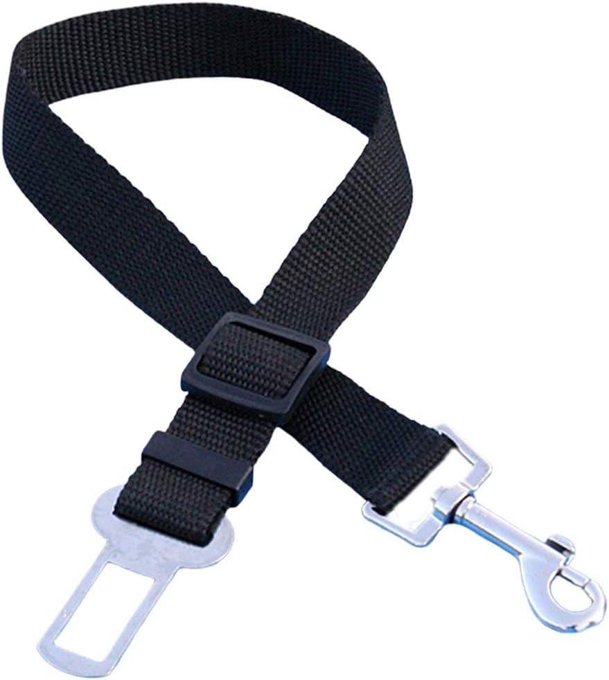 Swiftswan Pet Dog Cat Car Seat Belt Adjustable Seat Belt Seat Belt Lead Rope Small Medium-Sized Dog Travel Clip Pet Supplies