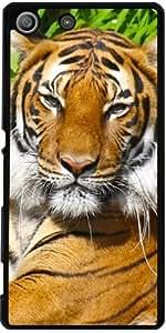 Funda para Sony Xperia M5 - Retrato Del Tigre by Pivi