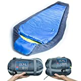 ROVOR Buhl 45 Degree Mummy Backpacking Sleeping Bag with Included Stuff Sack | The Buhl Sleeping Bags for Adults Have a 45 Degree Comfort Rating Which
