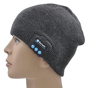 xikezan bluetooth beanie hat wireless washable