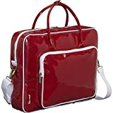 Ice Red Shine Glossy Laptop Tote