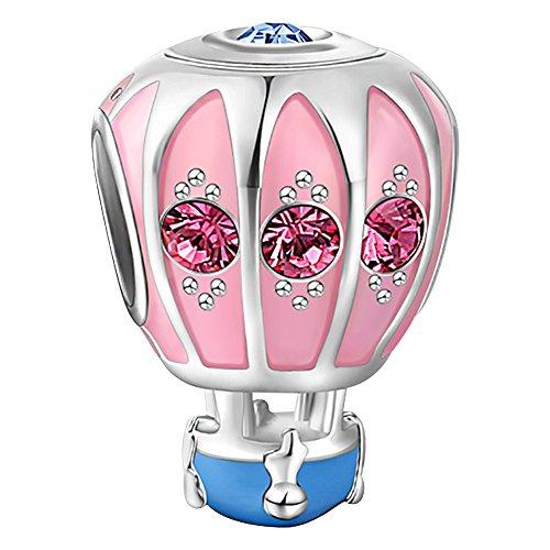 hot air balloon charm - 7