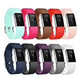 POY Fitbit Charge 2 Bands, Classic & Special Edition Replacement bands for Fitbit Charge 2, Large Small