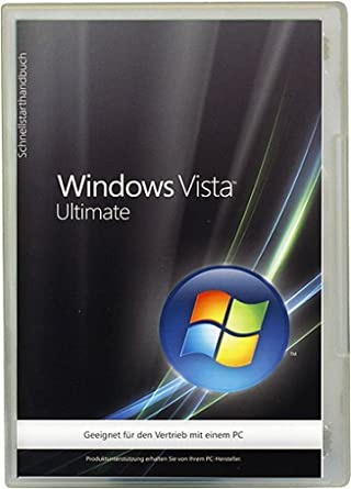 Windows Vista Ultimate 32 Bit OEM SP1