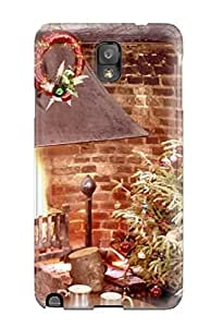Hot LjatUho13578SthMo Case Cover Protector For Galaxy Note 3- Holiday Christmas
