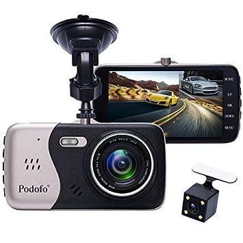 Voiture Dashcam Dvr Enregistreur Double Caméra Podofo De Conduite WEH9e2DIY