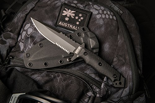 Spear Kydex Point Sheath (Hardcore Hardware Australia MFK-04G2 Generation 2 Tactical Fighting Survival Knife Black G-10 Kydex Sheath)