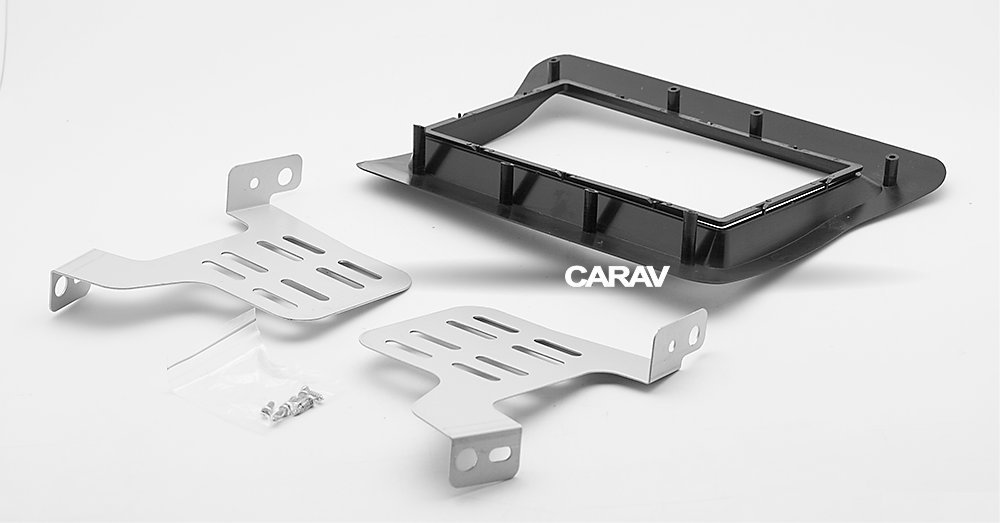Carav 11-705 Car Stereo Radio installation frame Double Din in Dash Facia Fascia Kit for NISSAN NV400 2010+ / OPEL Movano 2010+ / RENAULT Master 2010+ with 17398mm/178100mm/178102mm