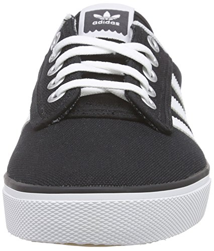 adidas Kiel - Zapatillas para hombre, color negro / blanco