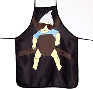 BESTONZON Funny Kitchen Cooking Apron Baking Apron Grilling BBQ Apron Party Costume For Men (Daddy)