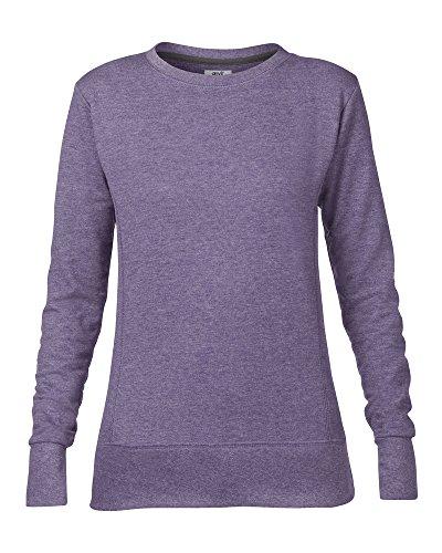 Anvil Féminin d'enclume mid-scoop Molleton sweatshirt - Violet Bruyère, XX-Large