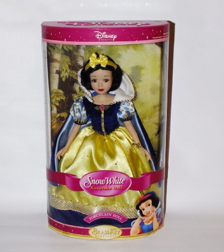 Disney Princess Snow White 14 inch Keepsake Porcelain Doll by Brass Key