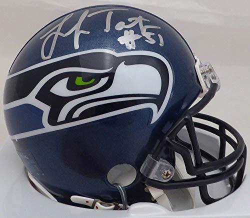 (Lofa Tatupu Signed Auto Seattle Seahawks Mini Helmet Steiner Holo - Certified Authentic)