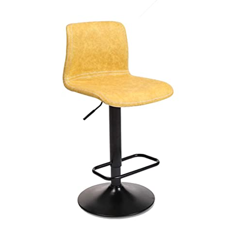 Awesome Amazon Com Hikty Modern Pu Leather Adjustable Swivel Andrewgaddart Wooden Chair Designs For Living Room Andrewgaddartcom
