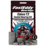 Daiwa T3 Complete w/Shaft Upgrade Baitcaster Fishing Reel Rubber Sealed Ball Bearing Kit for RC Cars