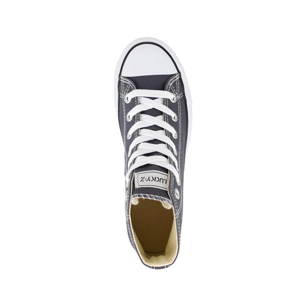 Elara Unisex Sneaker   Damen Herren   Dunkelgrau High Top   Chunkyrayan Dunkelgrau   London 97f169