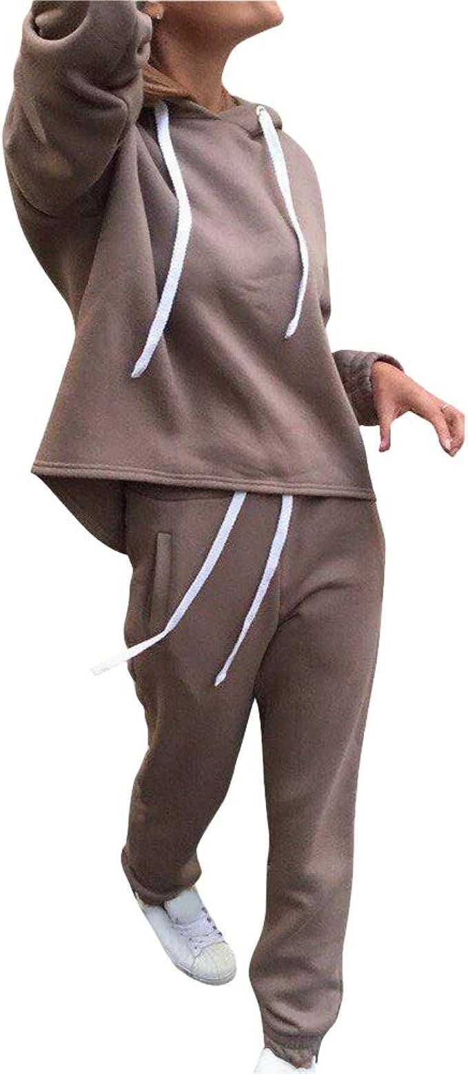 Damen Trainingsanzug Hausanzug Sweatshirt Hose Jogginganzug Sportanzug Sommer