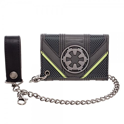 bioworld-mens-star-wars-rogue-one-empire-chain-wallet-gray-one-size