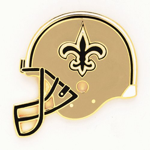NFL New Orleans Saints 48623061 Collector Pin Jewelry Card (Saints Orleans New Collectors)