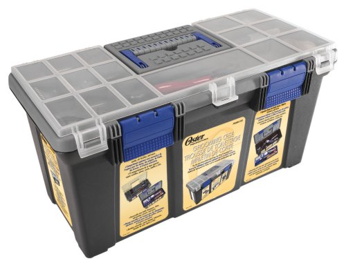 Price comparison product image Oster Tool Box Carrying Case for Clipmaster, Showmaster and Shearmaster