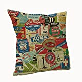 Sunshinebag Modern Sofa Decorative Pillow Cover ( 20*30 )