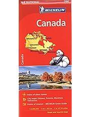 Michelin Canada Map 766