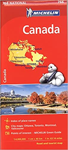 Michelin Maps Canada Michelin Canada Map # 766 (Michelin National): Michelin