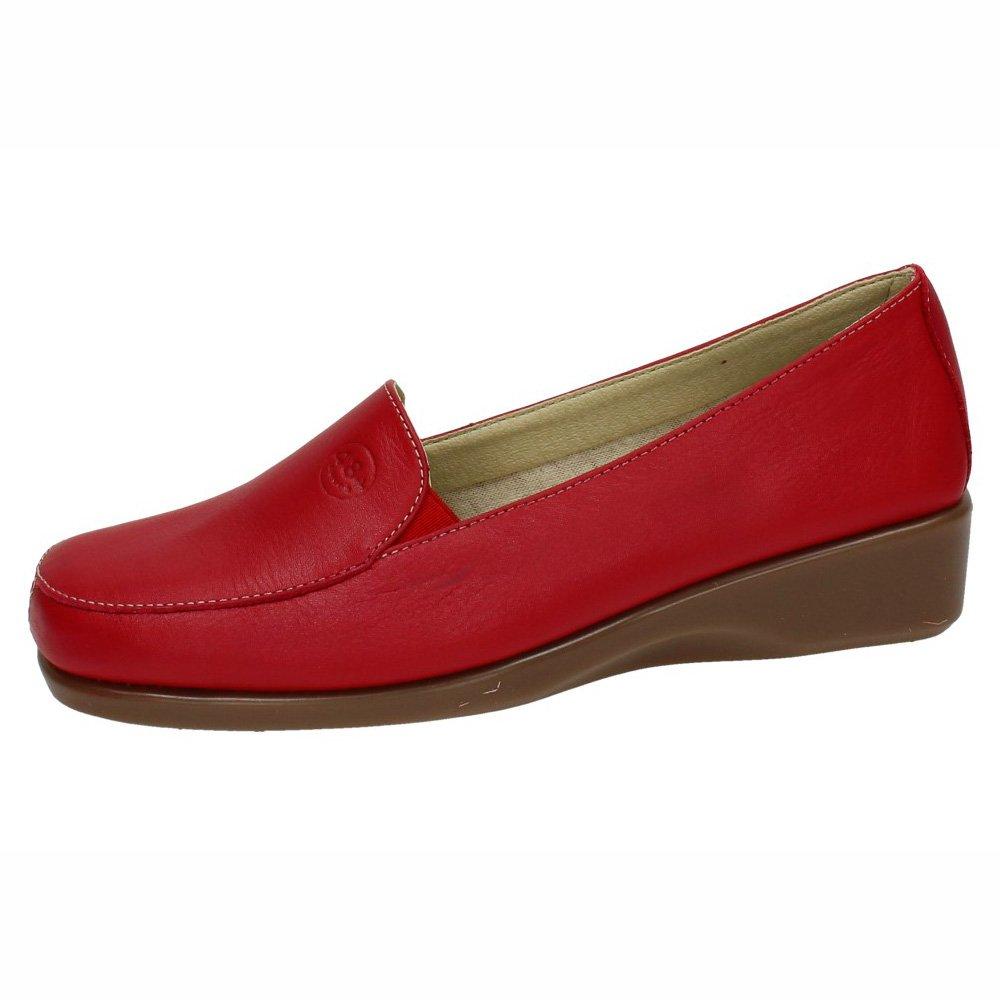 48 HORAS 810301/40 Mocasines Rojos Mujer Zapatos MOCASÍN Rojo 39: Amazon.es: Zapatos y complementos
