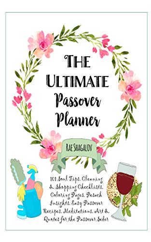 Passover Seder Supplies - The Ultimate Passover Planner: 101 Soul