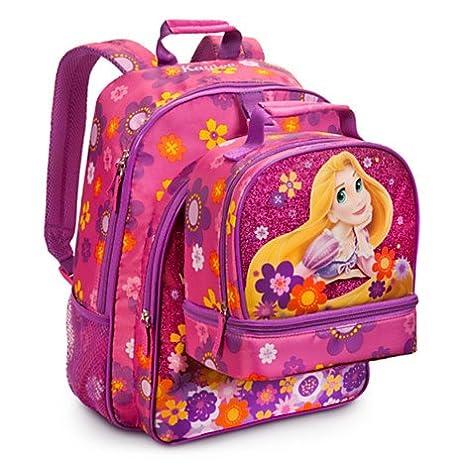 a basso prezzo 0cda6 9178b Disney Store zaino con borsa scuola Principessa Rapunzel ...