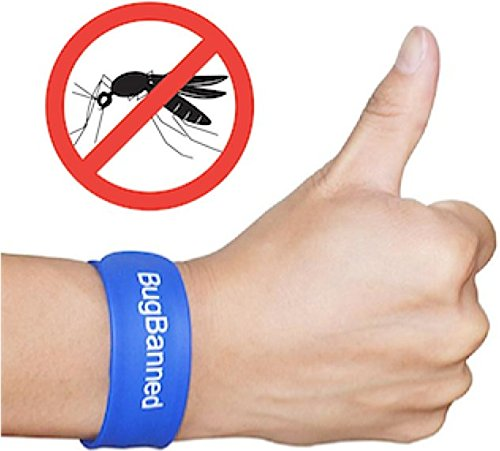 Amazon.com : BugBanned Mosquito Repellent Wrist Band   Best Insect Repeller  Bracelet For Adults And Kids   Protection Up To 340Hrs   DEET Free   All  Natural ...