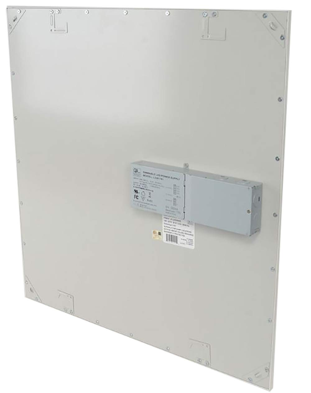 TCP 8 Pack 2x2 FT LED Flat Panel Light Fixture, 36W - 3600 Lumens, 5000K Daylight, 110V-277V, 0-10V Dimming by TC (Image #4)