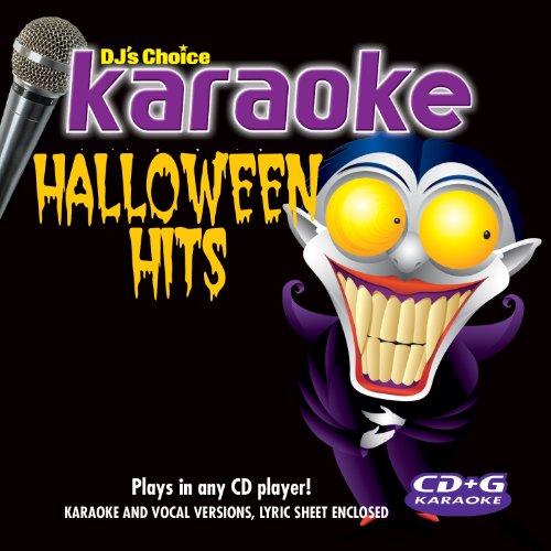 HALLOWEEN HITS KARAOKE-CD -