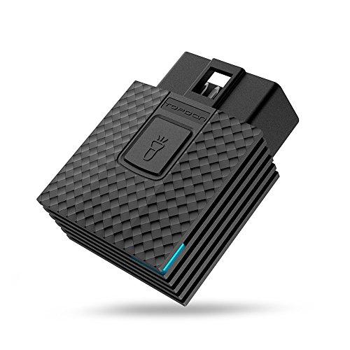 TT TOPDON Arti Box OBD2 Scanner (Bluetooth iOS Apple, iPad, Android and Windows, OBDII Code Reader MIL Turn-Off, Live Data, 0-100km/h Speeding Test) by TT TOPDON