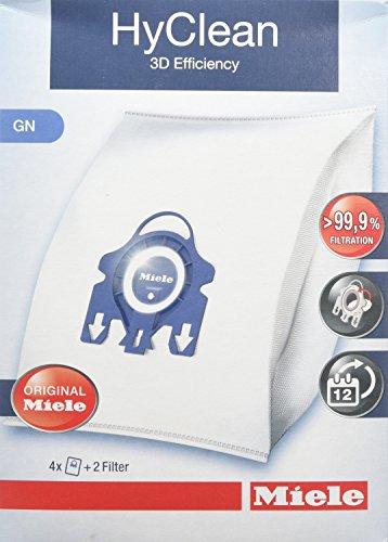 Miele Type GN 3D Efficiency HyClean Dust Bag, 1 Box