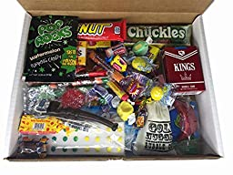 Feel Better Soon Care Package Gift Basket Box of Retro Candy