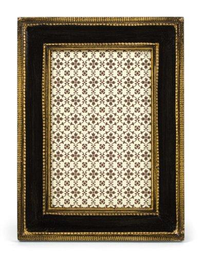 Cavallini Florentine Frames Classico Black 4 x 6