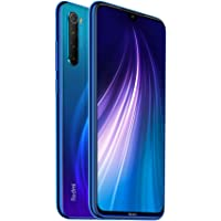 Xiaomi Redmi Note 8 Dual SIM, 64GB, 4GB RAM, 4G LTE, International Version - Neptune Blue