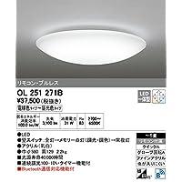 ODELIC(オーデリック) LEDシーリングライト 【適用畳数:~6畳】 調光・調色タイプ Bluetooth通信対応 OL251271B