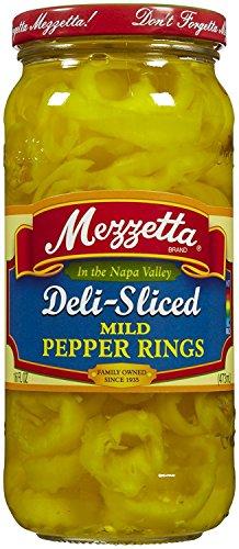 (Mezzetta Mild Ring Peppers, 16 oz)