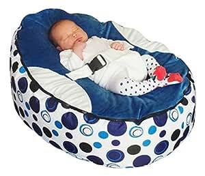 Amazon.com: Mama Baba puf de bebé Snuggle cama sin relleno: Baby